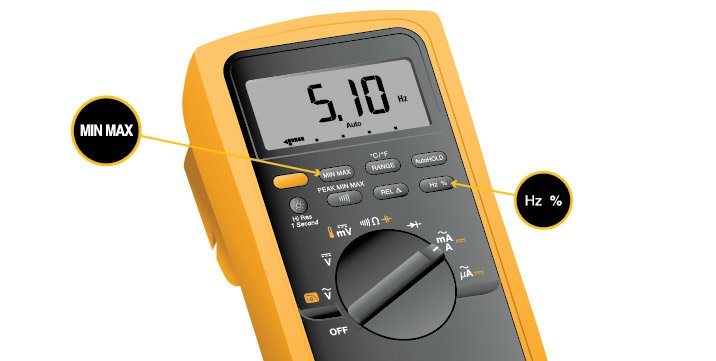 Most digital multimeters are equipped to measure frequency.
