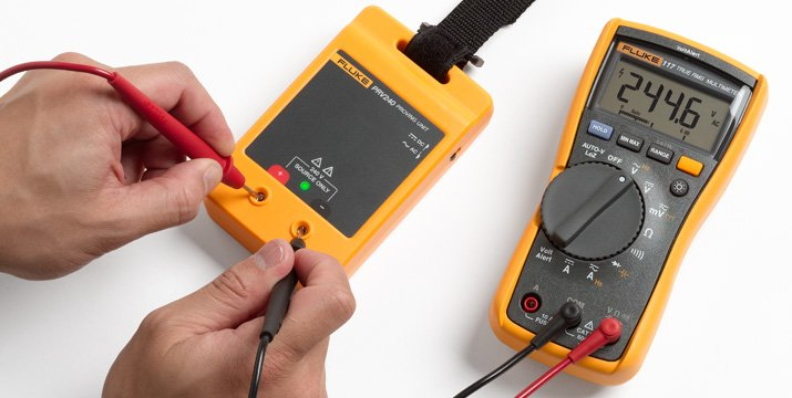 How to verify electrical test tool operation with a proving unit