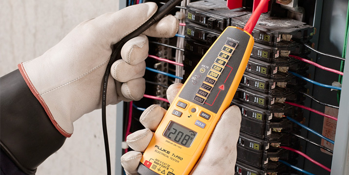 Absence of voltage testing - Header