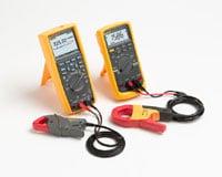 using accessory current clamps with digital multimeters fluke rh fluke com Fluke Amp Meter fluke i410 current clamp user manual