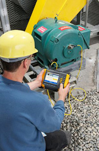 Vibration analysis measures the frequency and intensity of vibrations caused by wear, misalignment, looseness, and other mechanical problems.