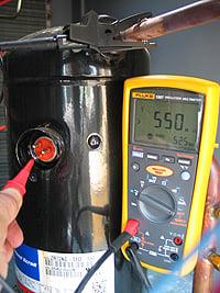 HVAC Compressor Motors Insulation Resistance And Testing | Fluke