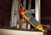 Using the Fluke 381 clamp meter