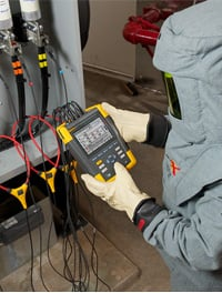 Using Fluke 435 Series II Power Quality and Energy Analyzer