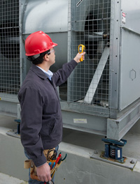 Fluke 62 MAX thermometers survive the hazards of working outdoors