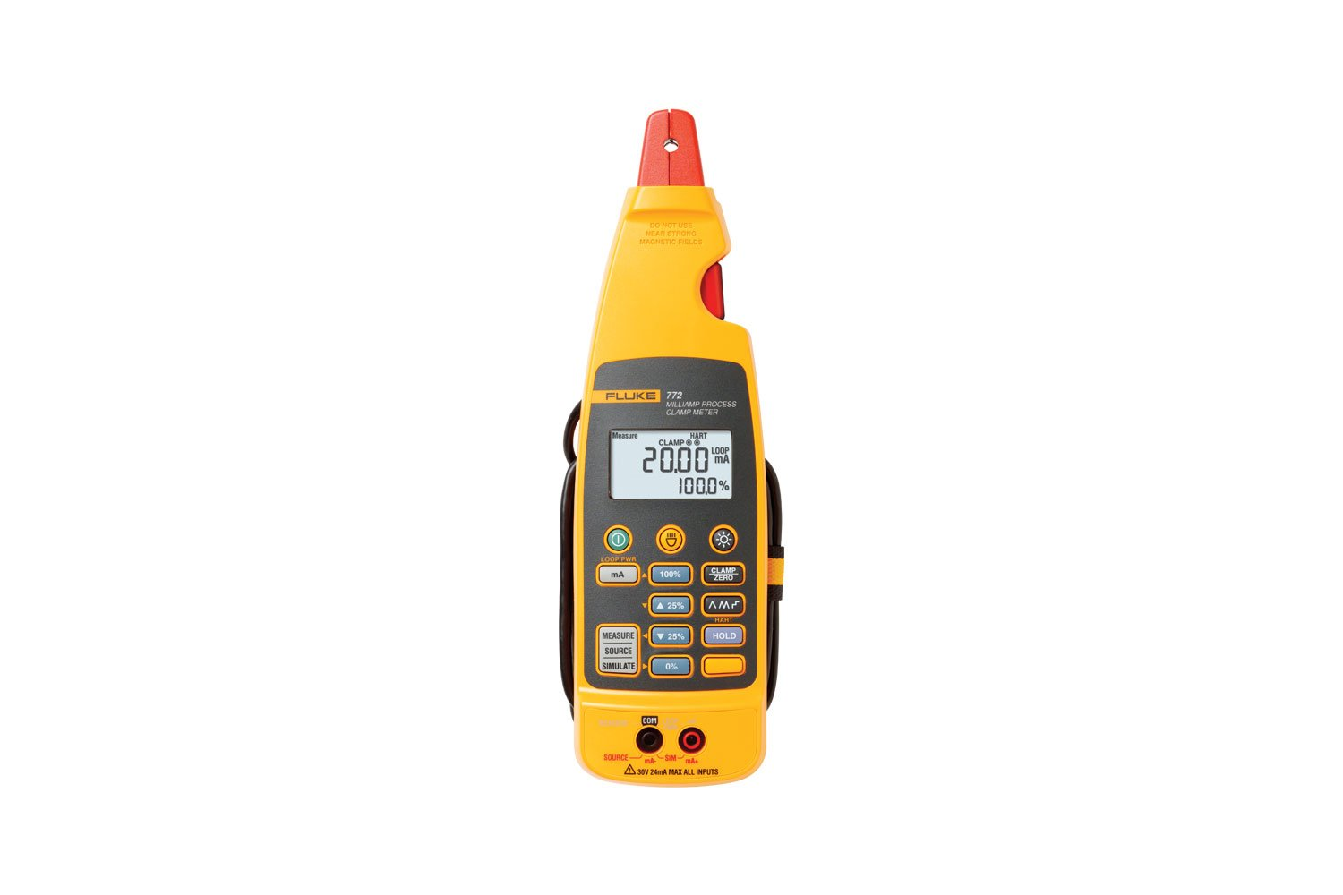 Fluke 772 Milliamp Process 4 20ma Clamp Meter 20 Ma Current Loop Measuring Circuits Basics I Industrial