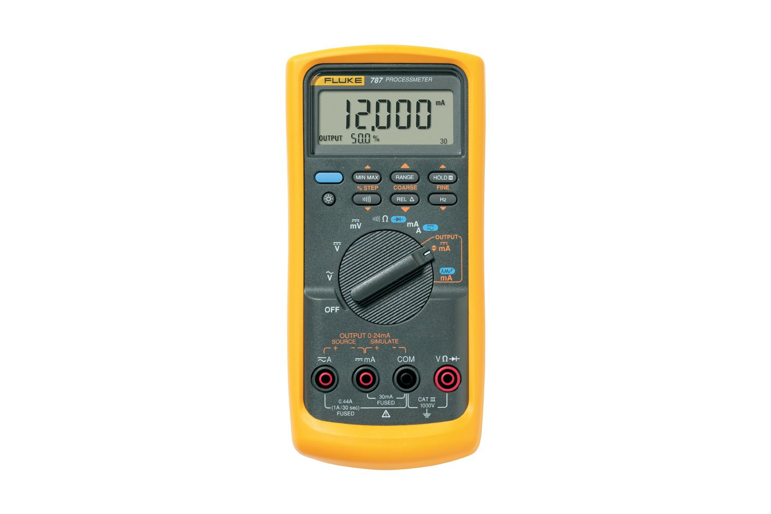 Fluke 787 Digital Multimeter Dmm Loop Calibrator Combo 20 Ma Current Measuring Circuits Basics I Industrial