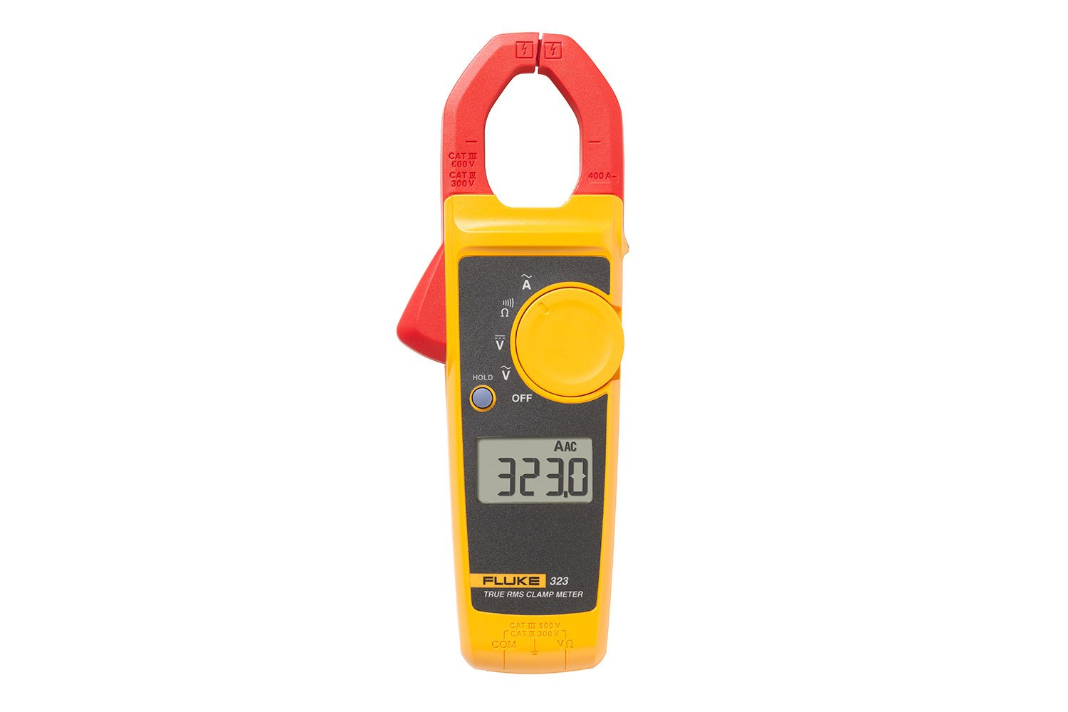 Ideal Clamp Multimeter Fluke 323 True Rms Meter Noncontact Voltage Detector Gets The Job Done Quickly And Safely
