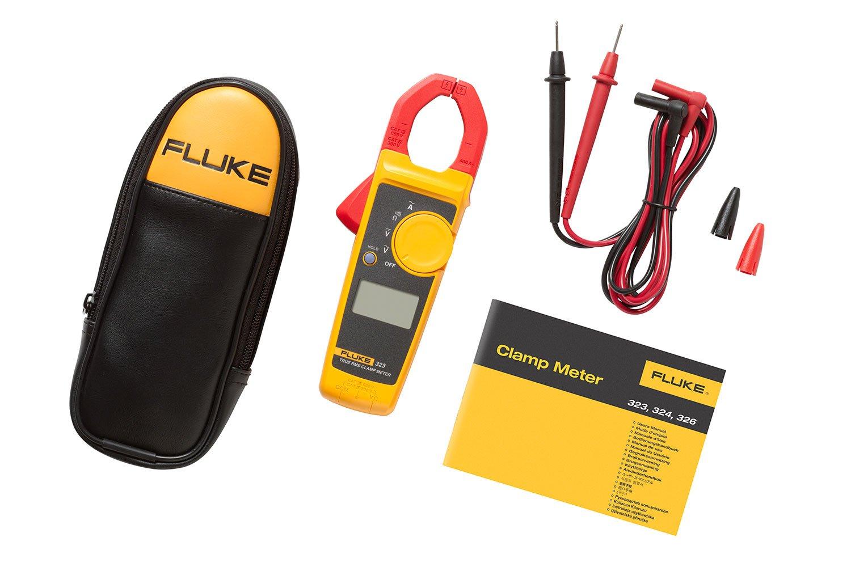 Fluke Clamp Meter 323 | True-RMS Digital Clamp Meter | Fluke
