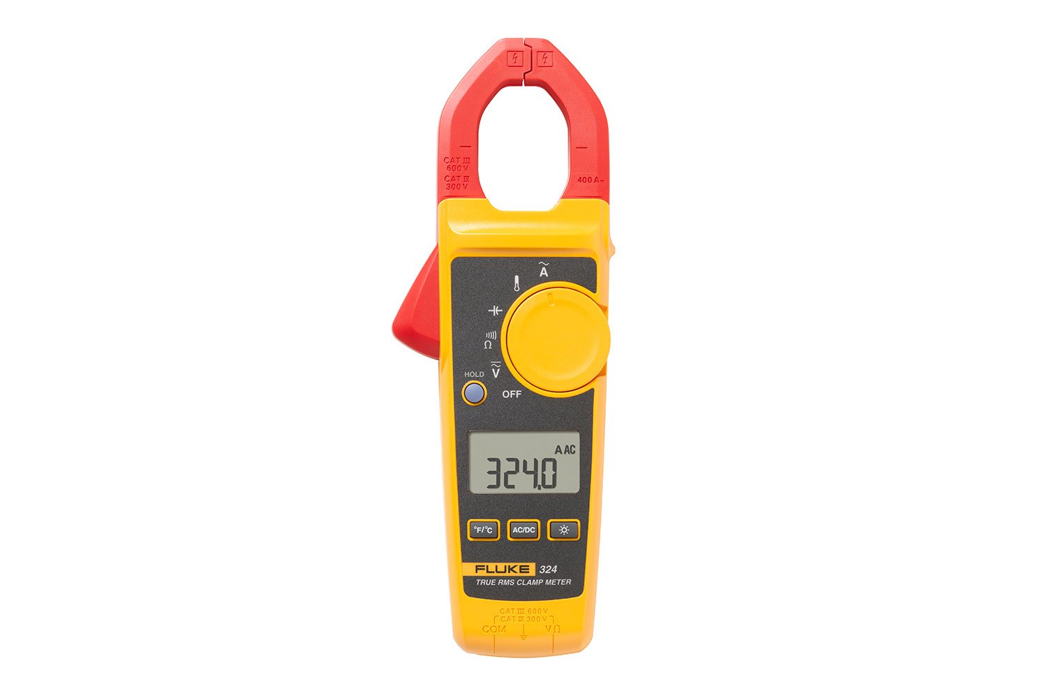 Rms Clamp Meter Fluke 324 True When The Switch Is Open Voltmeter Reads 60 V And It