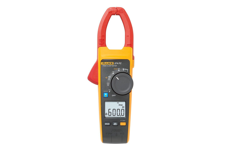 Dc Clamp Meters Fluke 374 Fc True Rms Ac Dc Clamp Meter