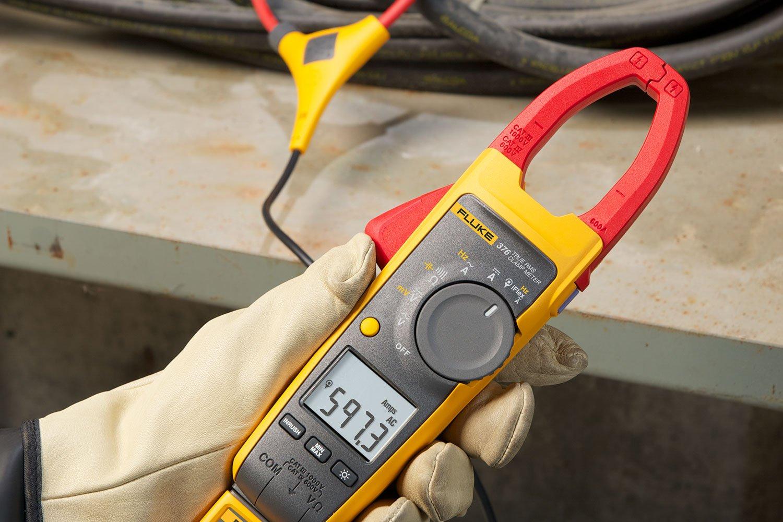 Fluke 376 True Rms Ac Dc Clamp Meter With Iflex 174 Fluke