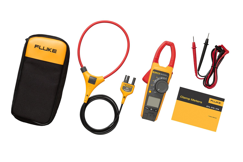 fluke 376 true rms ac dc clamp meter with iflex fluke rh fluke com fluke 376 manual pdf fluke 376 manuel