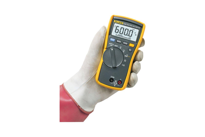 Fluke 114 True-RMS Electrical Multimeter CAT III 600 V | Fluke