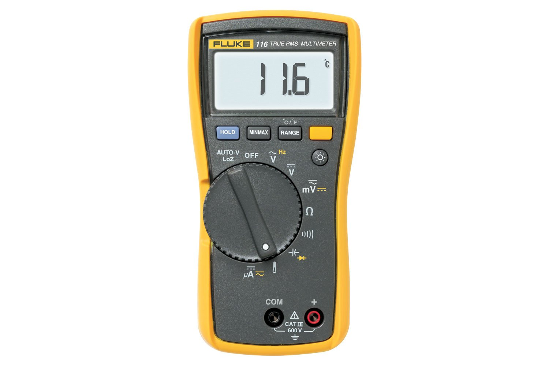 Fluke 116 Digital Multimeter For Hvac Service Fluke