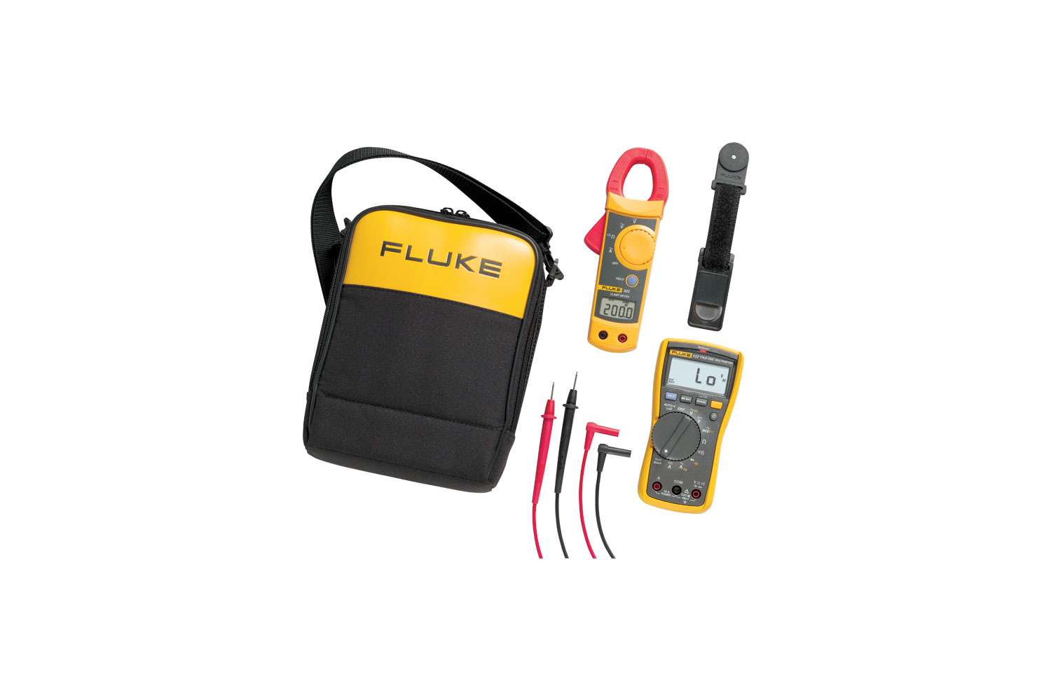 Fluke 117 The Ideal Multimeter For Electricians Low Voltage Circuit Tester Besides Ohms Symbol On