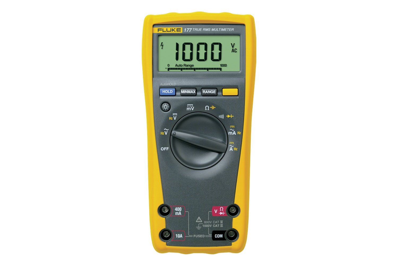 Multimeter Fluke 177 True Rms Digital Ammeter Voltmeter Ac Dc Ohm Tester Buzzer Circuit