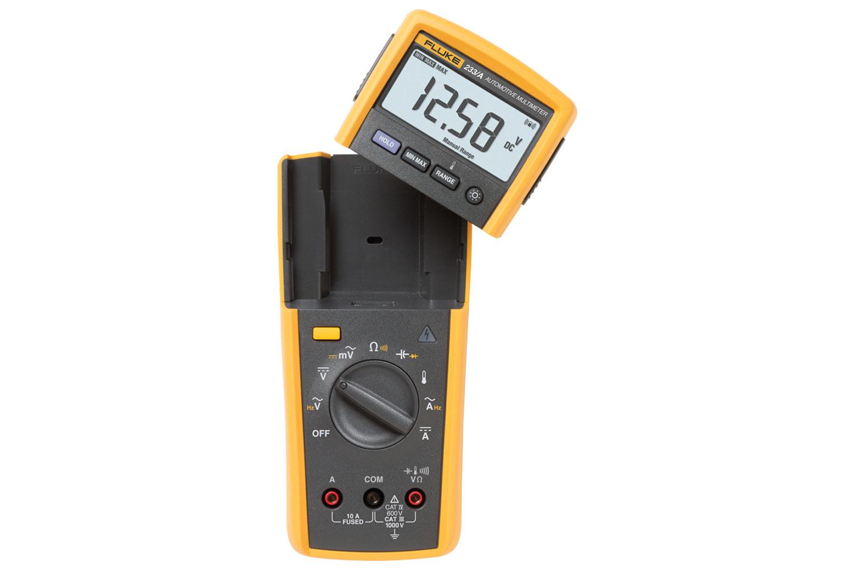 Fluke 233 True Rms Remote Display Digital Multimeter Brake Switch Test