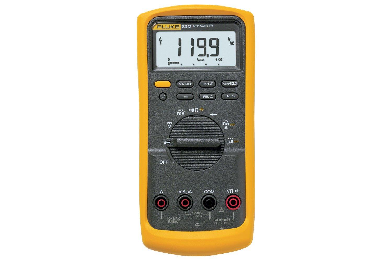 fluke 83v average responding industrial multimeter fluke rh fluke com Fluke Cat IV 1000V User Manuals Fluke Cat IV 1000V User Manuals