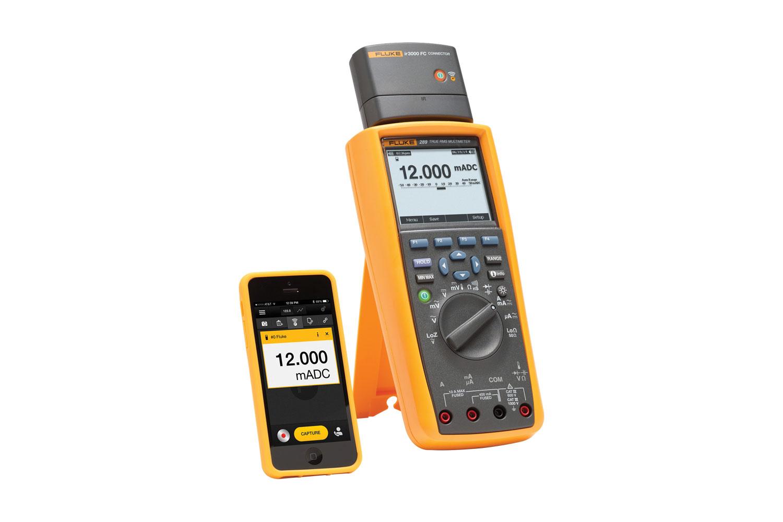 Fluke 289 トレンドキャプチャ付真の実効値型工業用ログ記録マルチメーター Fluke