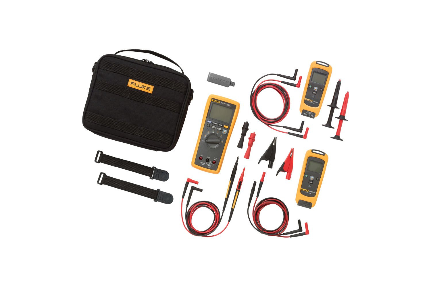 Fluke V3003 Fc Wireless Ac Dc Voltage Measurement Kit Tool Aid Intermittent Short Finder And Circuit