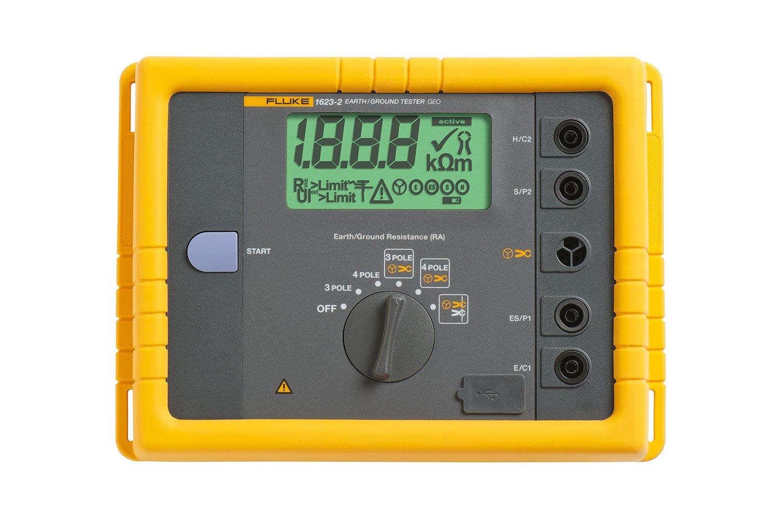 Fluke 1623 2 Geo Earth Ground Resistance Meter Fluke
