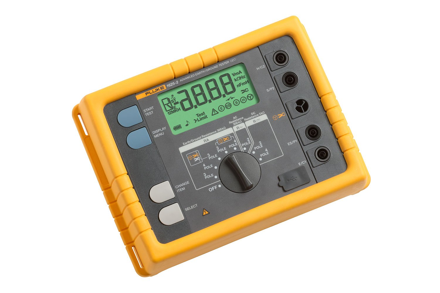 Fluke 1625-2 GEO Earth Ground Tester