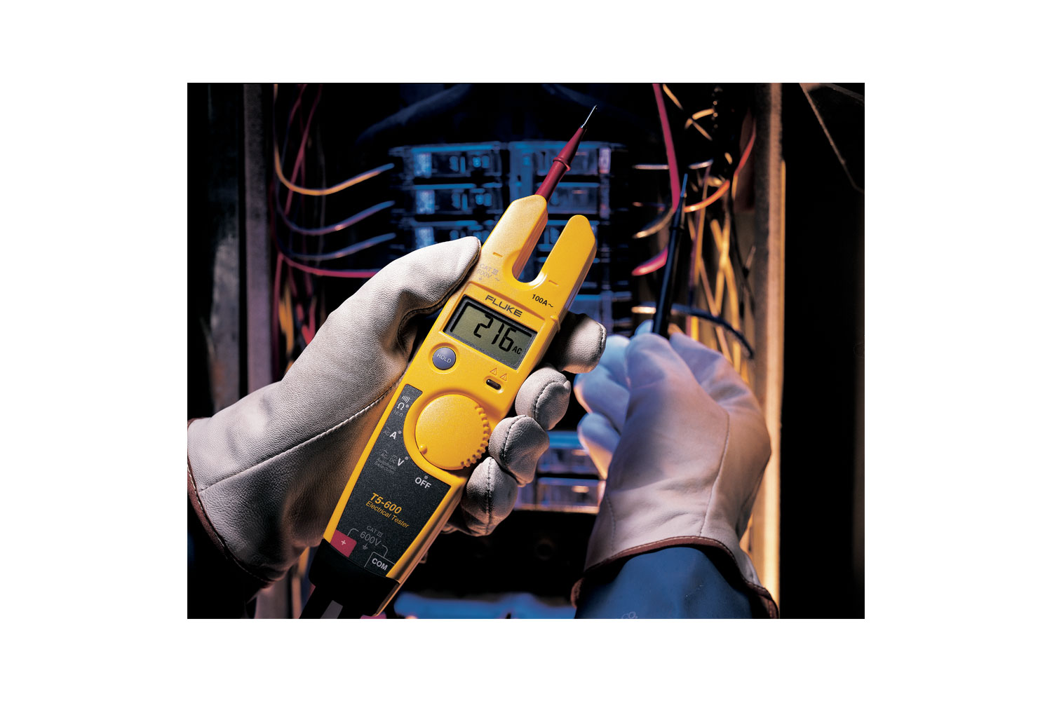 Fluke T5 600 Voltage Continuity And Current