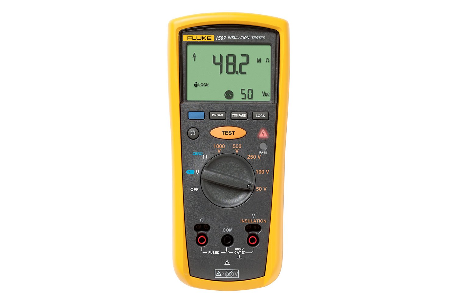 Fluke 1507 Insulation Resistance Tester Continuity Circuit Alarm Or