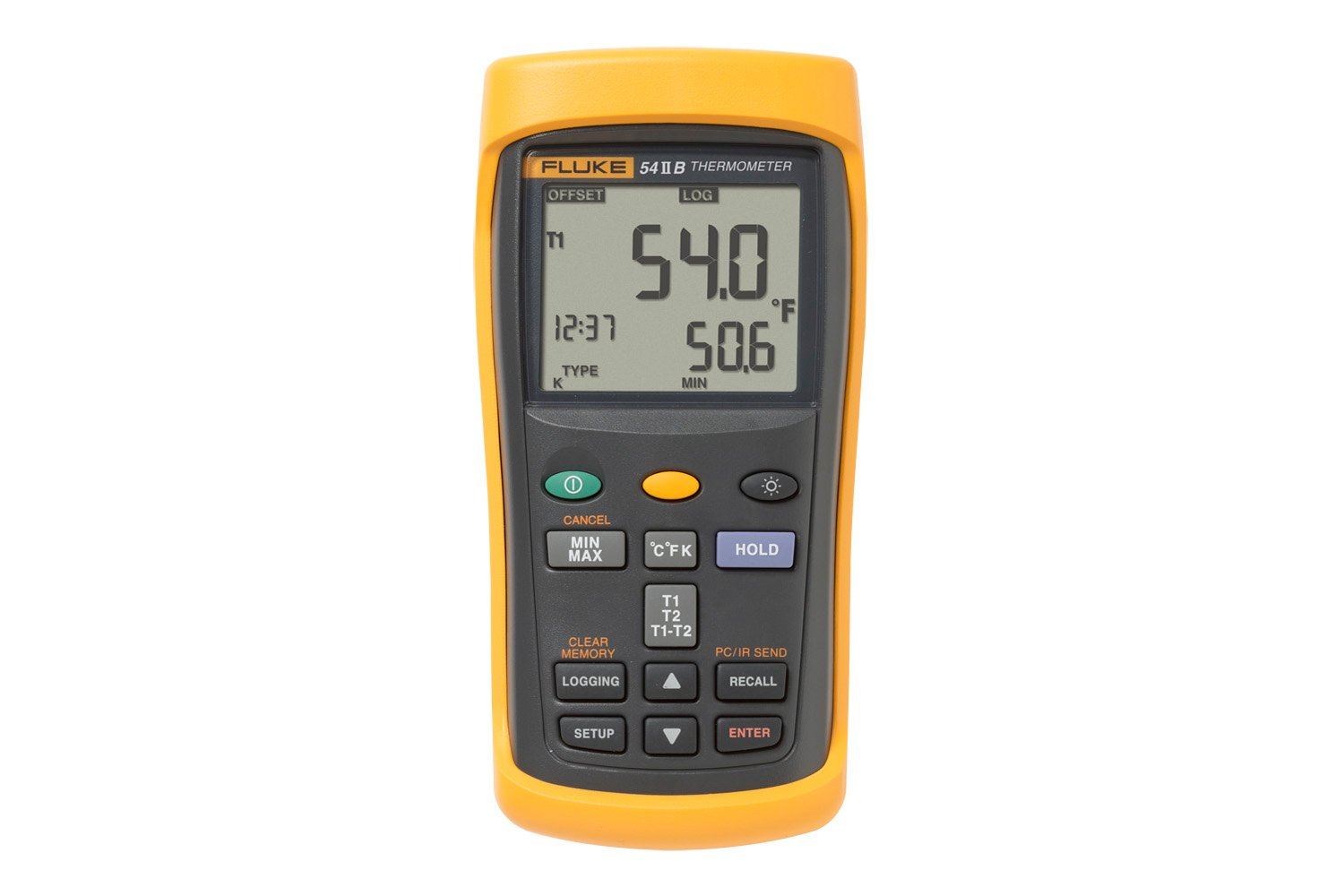data logging thermometer fluke 54 ii digital thermometer digital multimeter non contact infrared thermometer