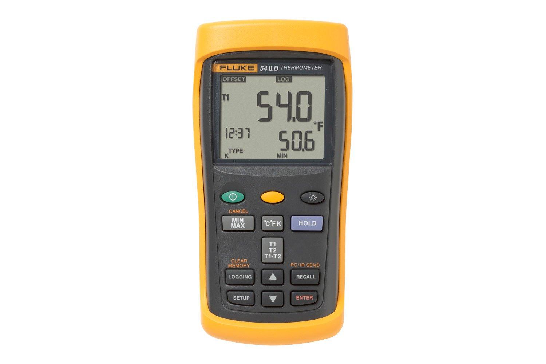 Data logging thermometer fluke 54 ii digital thermometer for B b com