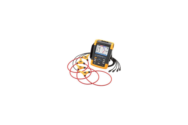 Power Analyzer Fluke 435 Ii Quality Dc Watt Meter For Solar Systems Youtube