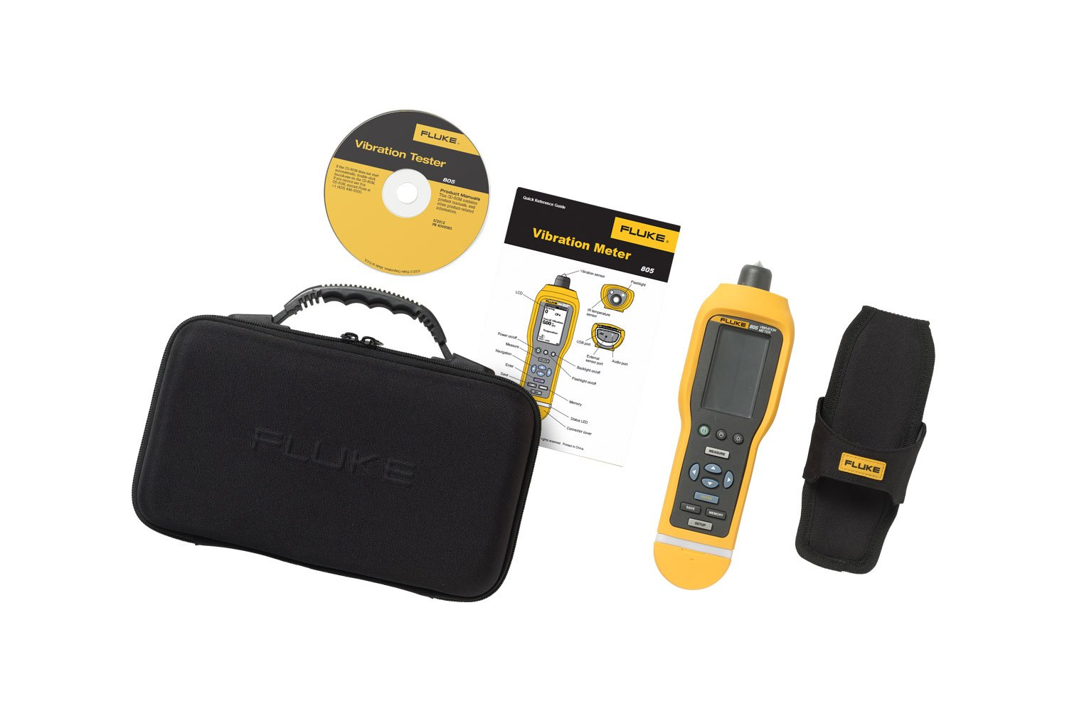 Handheld Vibration Testers Fluke 805 Meter Digital Multimeter From Reliable Circuit Suppliers On