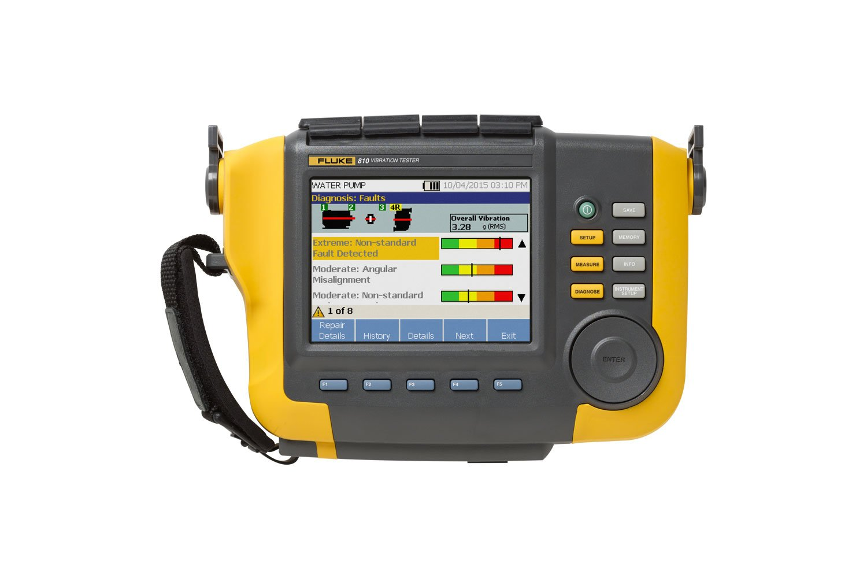 Vibration Analyzers | Fluke 810 Vibration Tester | Fluke