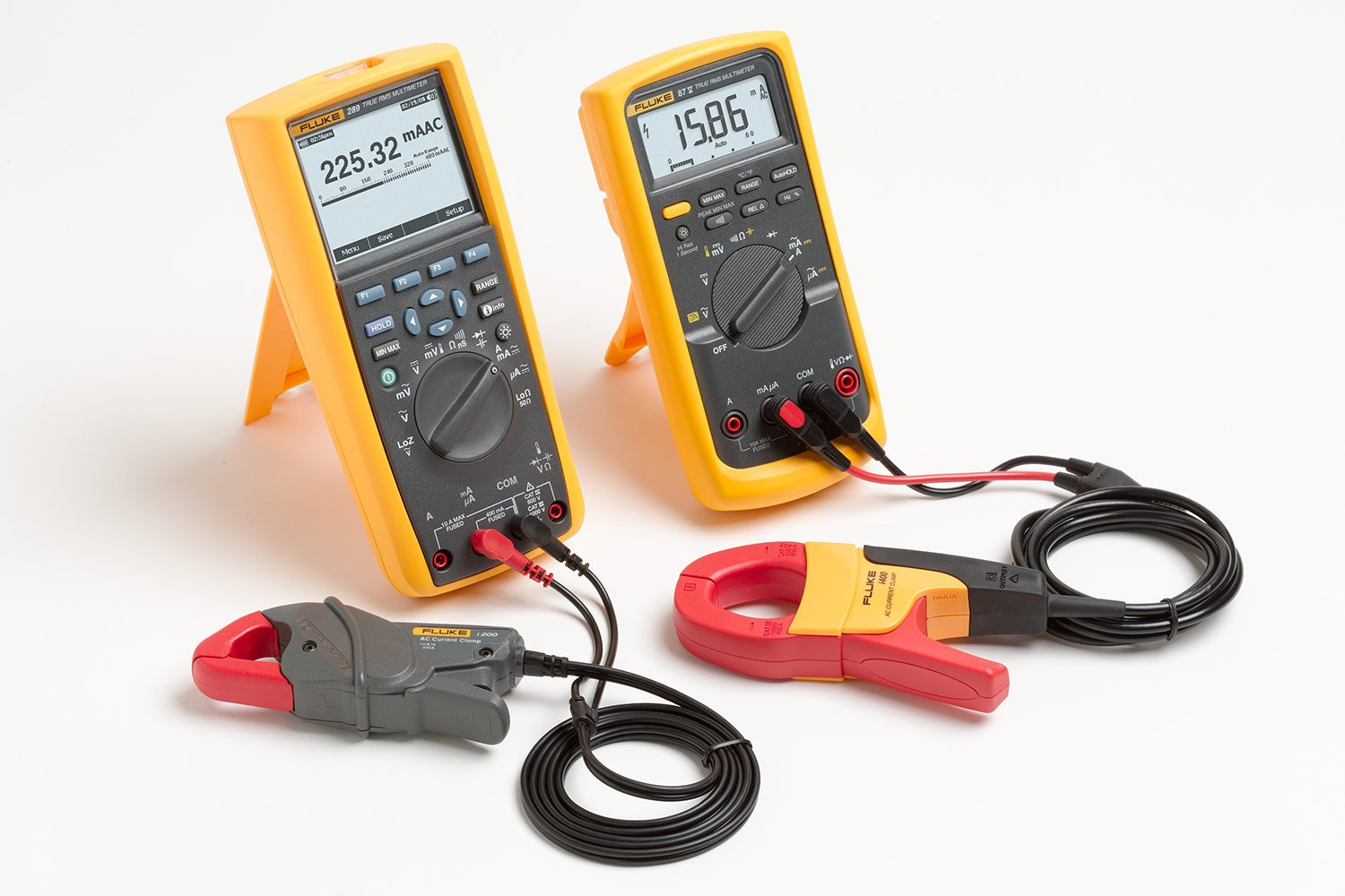 Using Accessory Current Clamps With Digital Multimeters | Fluke