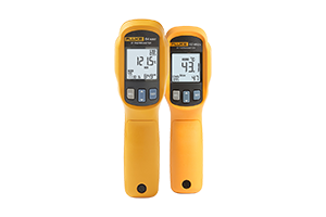 Visual IR thermometers