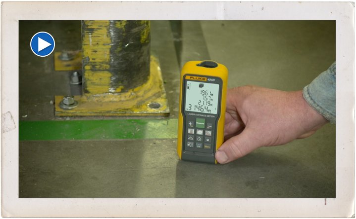 Fluke Laser Distance Meters: In Action