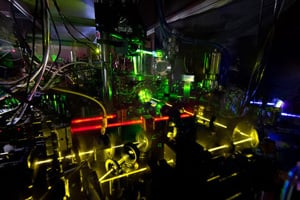 A ytterbium lattice atomic clock at the National Institute of Standards and Technology (N. Phillips/NIST)