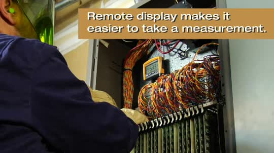 Fluke 233: Remote Display Multimeter for Electrical Industrial Control