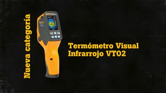 Fluke VT02 Visual IR Thermometer Application Overview