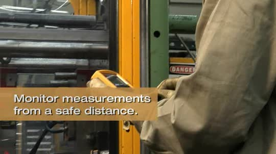 Fluke 233: Remote Display Multimeter for Industrial Machinery Video