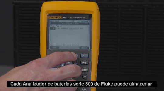 500 Series Battery Analyzers Building Profiles