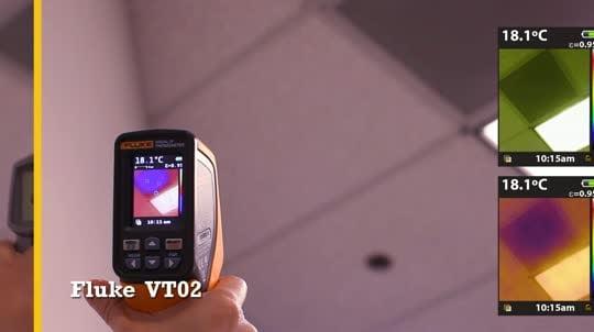 Fluke VT02: Duct