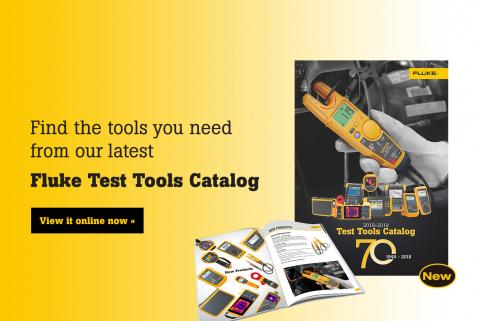 2018-2019 Fluke Test Tools Catalog