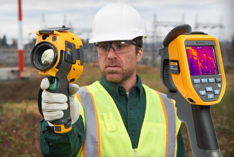 Get more-pay less. Buy a Fluke thermal imager with a special discount