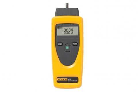 Fluke 931 Contact and Non-Contact Dual-Purpose Tachometers