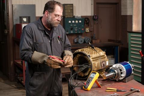 Troubleshoot failed motors with insulation resistance testing