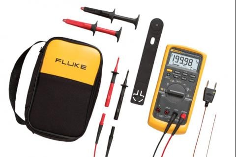 Kit combiné pour applications industrielles Fluke 87 V/E2