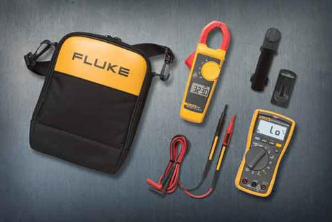 Fluke 117 and 323 Electrician's Multimeter Combo Kit