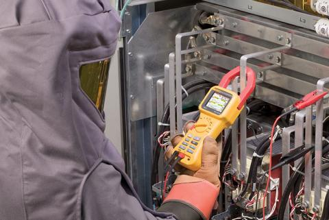 Basic power quality on-the-go with Fluke 345 PQ clamp